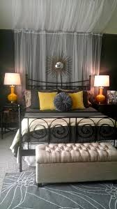 Sheer Curtains Over Bed A Gorgeous Bedroom Tour More Pictures Show The Sitting Area And