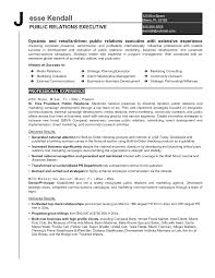 Finance Resume Template Public Relations Resume Examples Resume For Your Job Application