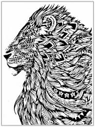 for adults animal mandala coloring pages for adults tiger coloring page