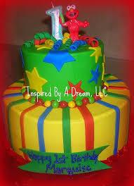 elmo 1st birthday cake a photo on flickriver