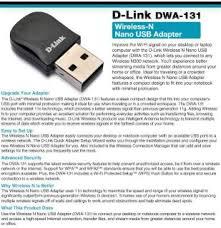 dwa 131 wireless n nano usb adapter d link uk d link driver dwa 125 on popscreen