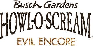 busch gardens halloween horror nights 2015 busch gardens tampa howl o scream evil encore new haunted houses