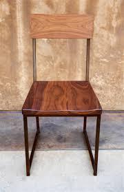 Black Metal Chairs Dining Furniture Wood Metal Dining Chair 215 Walnut Seat Metal Frame Size