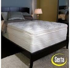 Serta Bed Frame Serta Pillowtop Mattresses Foter