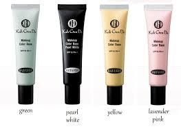 yellow primer koh gen do yellow makeup color base reviews photo ingredients