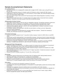 sle resume summary statements about achievements for resume resume accomplishment paso evolist co
