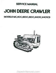 john deere tractor loader backhoe manuals repair manuals online