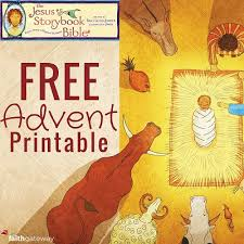 jesus storybook bible advent calendar printable faithgateway