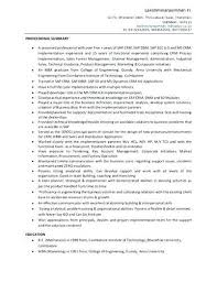 sap crm resume samples feature here is a consultant resume example