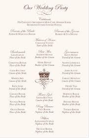beautiful wedding programs beautiful wedding program templates word josh hutcherson