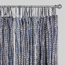 Textured Cotton Tie Top Drape by Tie Top Curtains World Market