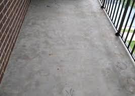 Resurface Concrete Patio Concrete Balcony Resurfacing Wilmington Concrete Resurfacing