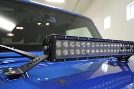 jeep jk hood led light bar kc hilites 8482 c20 20 combo beam led light bar kc 335