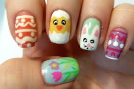 Easter Nail Decorations by High Nail Art Designs Also Easter Nail Design Ideas And Easter