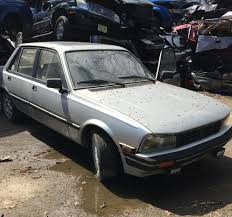 peugeot 505 coupe he won u0027t junk it 1985 peugeot 505 turbo