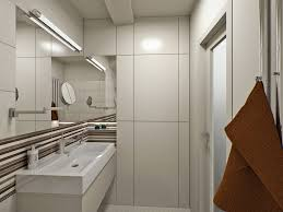 contemporary basement bathroom ideas with awesome long narrow