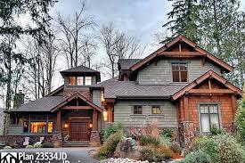 4 bedroom craftsman house plans plan 23534jd 4 bedroom rustic retreat house plans rustic modern