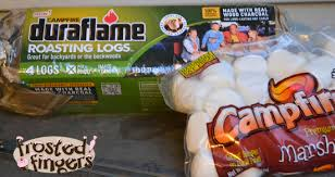 duraflame fire pit duraflame campfire roasting logs review frosted fingers baking