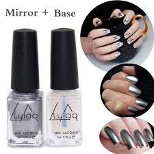 aliexpress com buy 2pc lot 6ml silver mirror effect metal nail