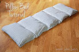 pillow beds for kids sarah jane sews tutorial pillow bed from xl twin sheet