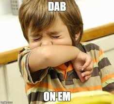 Em Meme - image tagged in dabs sneeze dance imgflip