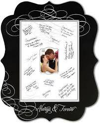 wedding signing frame ornate wedding chalkboard signing frame