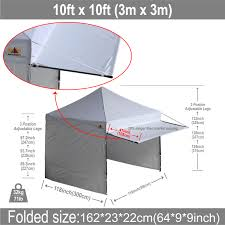 Abc Awning 10x10 Abccanopy Easy Pop Up Canopy Tent Instant Shelter Deluxe