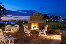 stylized outdoor fireplace pits design home decors s with image