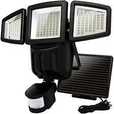 driveway motion sensor light solar lights motion sensor costech 182 led 1000 lumens outdoor