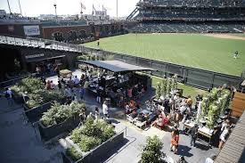San Francisco Urban Garden - giants fans find new experience in edible garden the san diego