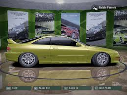 need for speed carbon acura integra type r nfscars