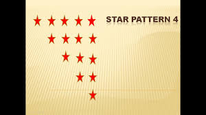 pattern language of program design star pattern 4 program in c easy logic language short trick