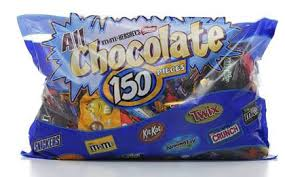 150ct assorted chocolate bag 0 99 at costco simple