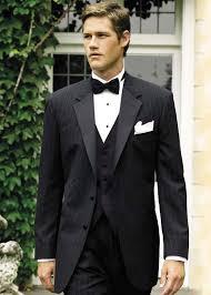 wedding tux rental cost perry ellis chalk stripe 2 button s tuxedo