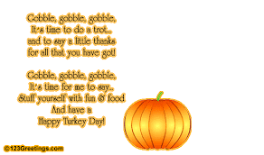 a thanksgiving turkey poem free turkey ecards greeting cards