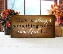there is always something to be thankful for sign autumn wall