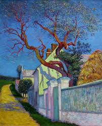 the red tree house 1890 vincent van gogh van gogh vincent van the red tree house 1890 vincent van gogh