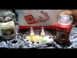 yankee candle christmas eve 2013 haul youtube