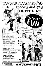 49 best woolworth u0027s and kresge u0027s halloween vint ads images on