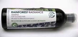 Shoo Rainforest Shop clarifying shoo for coloured hair the shop rainforest