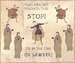 Bayeux Tapestry Meme - medieval macros bayeux tapestry parodies know your meme