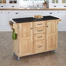 create a cart kitchen island 35x48x18 410 hardwood kitchen cart w black granite top https