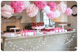 pink baby shower girly baby shower ideas girly pink ba shower