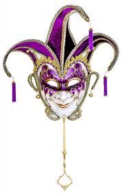 jester masquerade mask purple gold masquerade mask venetian jester mulberry moon