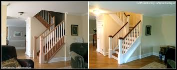 Refinish Banister Madison Nj Staircase Painting Staining U0026 Refinishing U2013 Craftpro