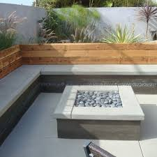 patio designs with built in deck benches interior