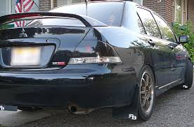 lancer mitsubishi 2004 rokblokz rally mud flaps for the mitsubishi lancer free shipping
