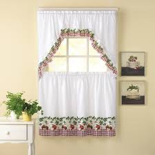Kitchen Curtains Lowes Interior Design Decorate Your Window By Using Swags Galore