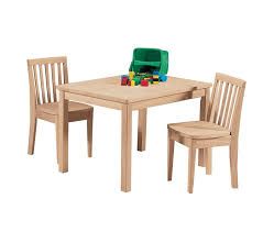 kids mission table and chair set
