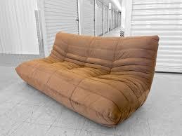 sold modern ligne roset togo style low sofa u2014 mod science decor